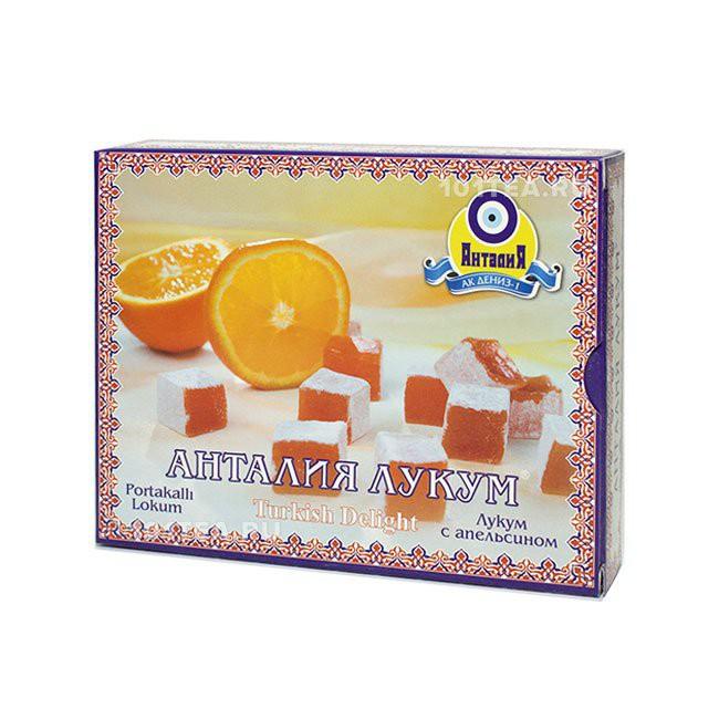 Лукум апельсиновый, 125 г